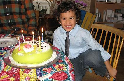 Lilla Axel fyller 5 år!